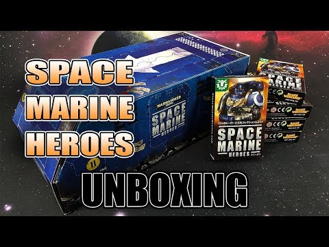 Japanese Exclusive Space Marine Heroes Unboxing & Review