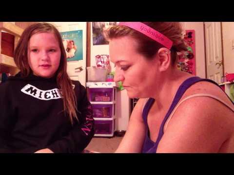 Me Doing My Mom's Makeup