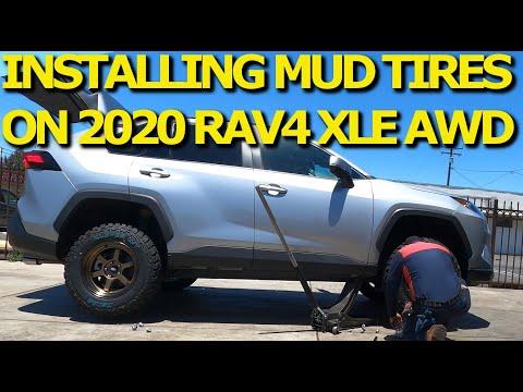 I Install Big Mud Tire on 2019 2020 2021 Rav4 AWD and I Love It!
