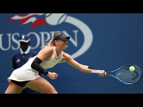 Maria Sharapova exits the US Open in the fourth round