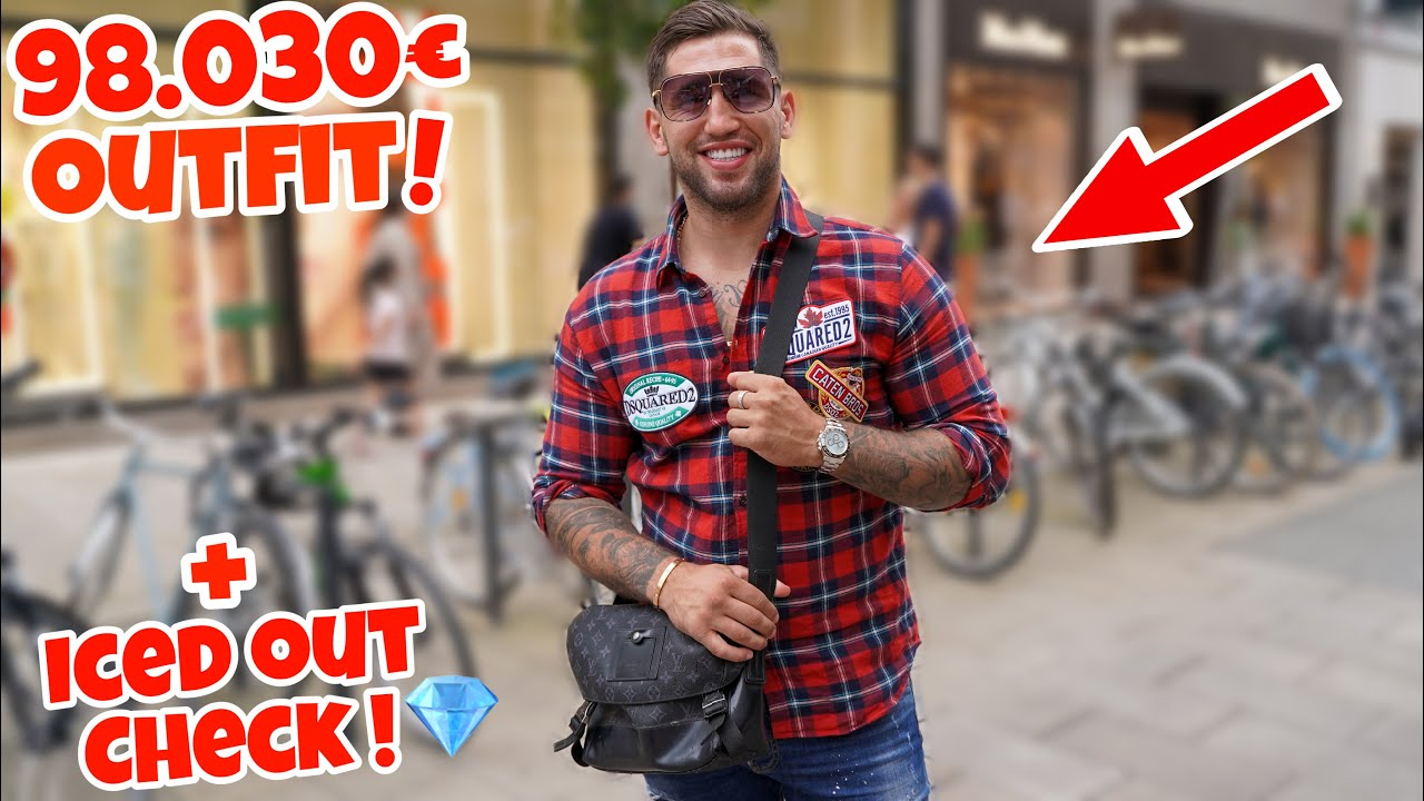 Das 98.030€ OUTFIT vom PROFIBOXER (DIAMOND CHECK💎) | Lion