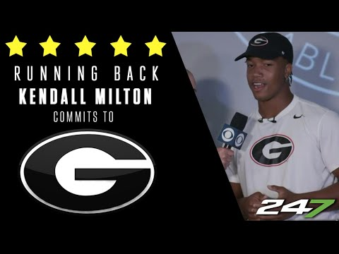 Five Star RB chooses the University of Georgia | College Football Recruiting News | 247 Sports