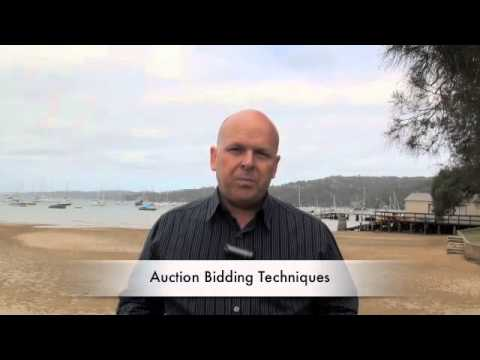Auction Bidding Techniques