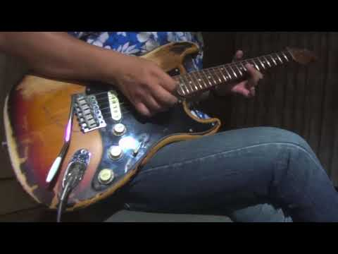 Stevie Vaughan & Double Trouble - Tell Me (Live) guitar cover