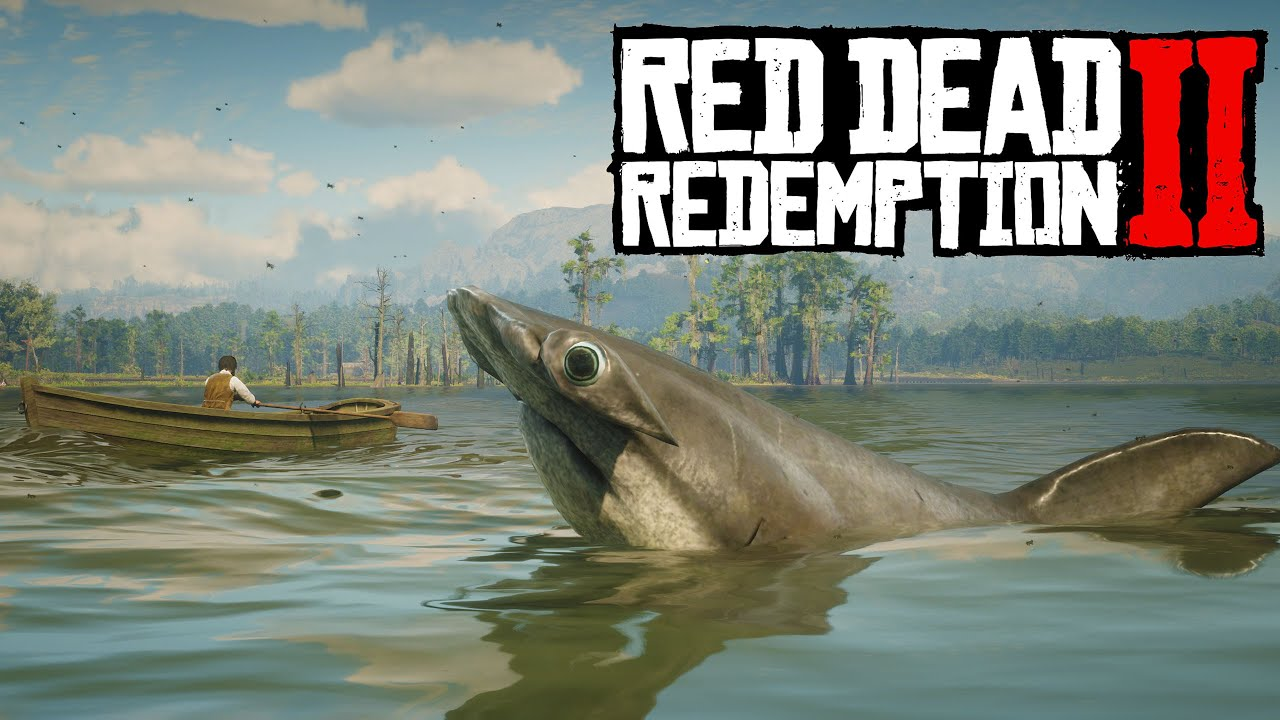Sharks Invade The Waters Of Saint Denis! Red Dead Redemption 2 PC Mods thumbnail
