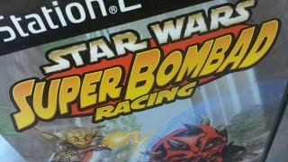 Classic Game Room - STAR WARS: SUPER BOMBAD RACING review for PS2