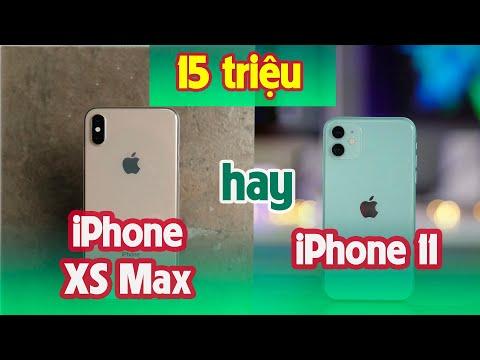 15 Triệu Chọn IPhone 11 Hay IPhone Xs Max: Màn Hình Hay Tất Cả?