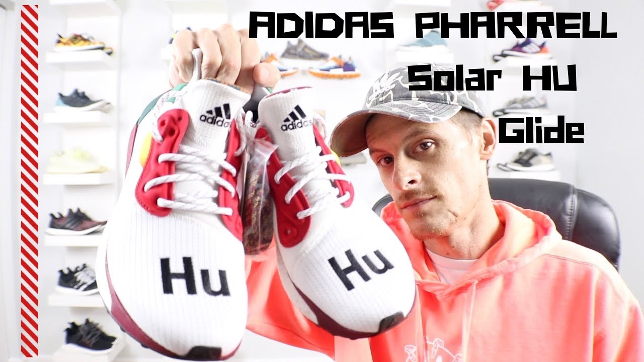 c8ed2daa3e0f4 ADIDAS PHARREL SOLAR HU GLIDE REVIEW (Unboxing and on foot opinion ...