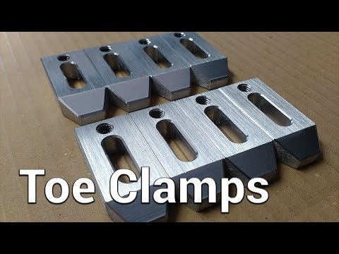 Milling - Toe Clamps for Milling Machine or CNC