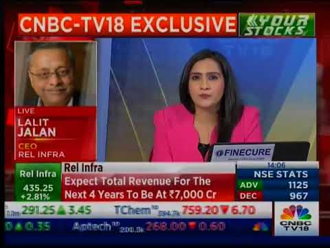 Reliance Infrastructure Ltd. to be cash positive by FY19-end: Lalit Jalan, CEO