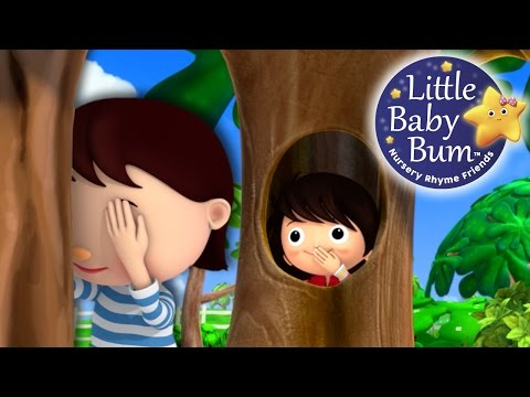 Thumbnail: Where Did You Go?! | Hide and Seek | Nursery Rhymes | Original Song By LittleBabyBum!
