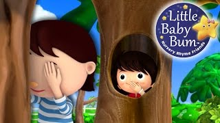 Where Did You Go?! | Hide and Seek | Nursery Rhymes | Original Song By LittleBabyBum