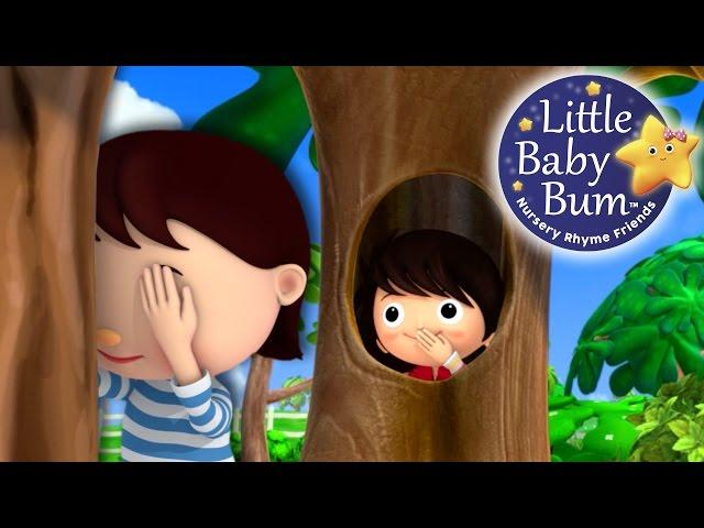 Where Did You Go?!   Hide and Seek   Nursery Rhymes   Original Song By LittleBabyBum!