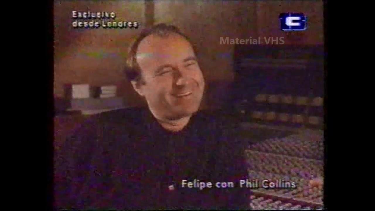 Videomatch - Entrevista a Phil Collins desde Londres - 1993
