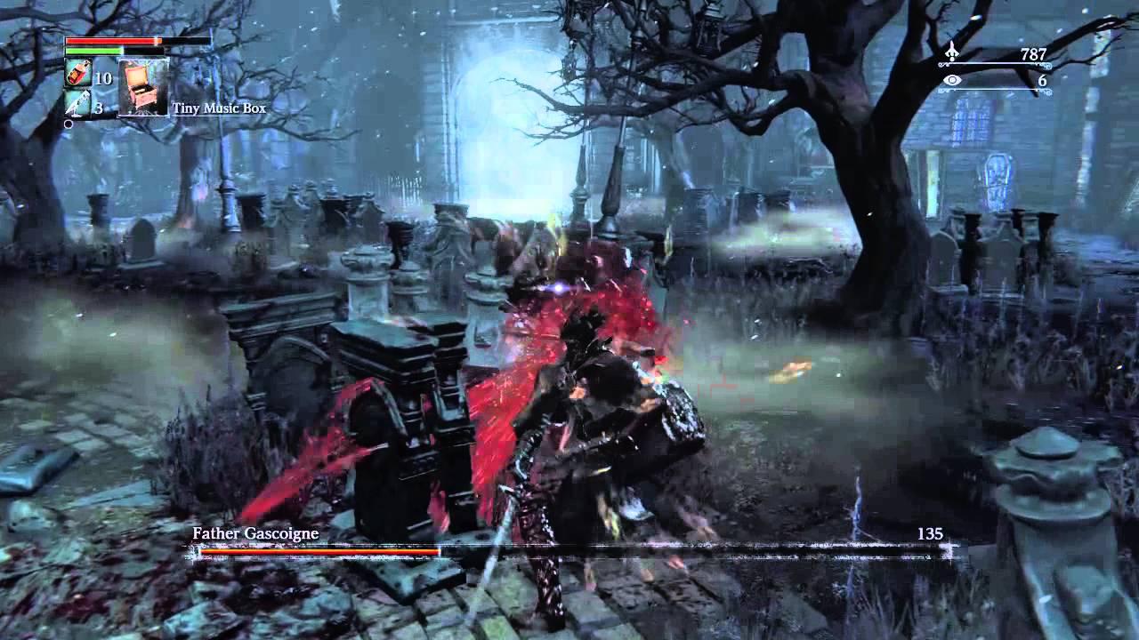 Bloodborne Second Boss | Father Gascoigne | - YouTube