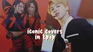 iconic covers in kpop