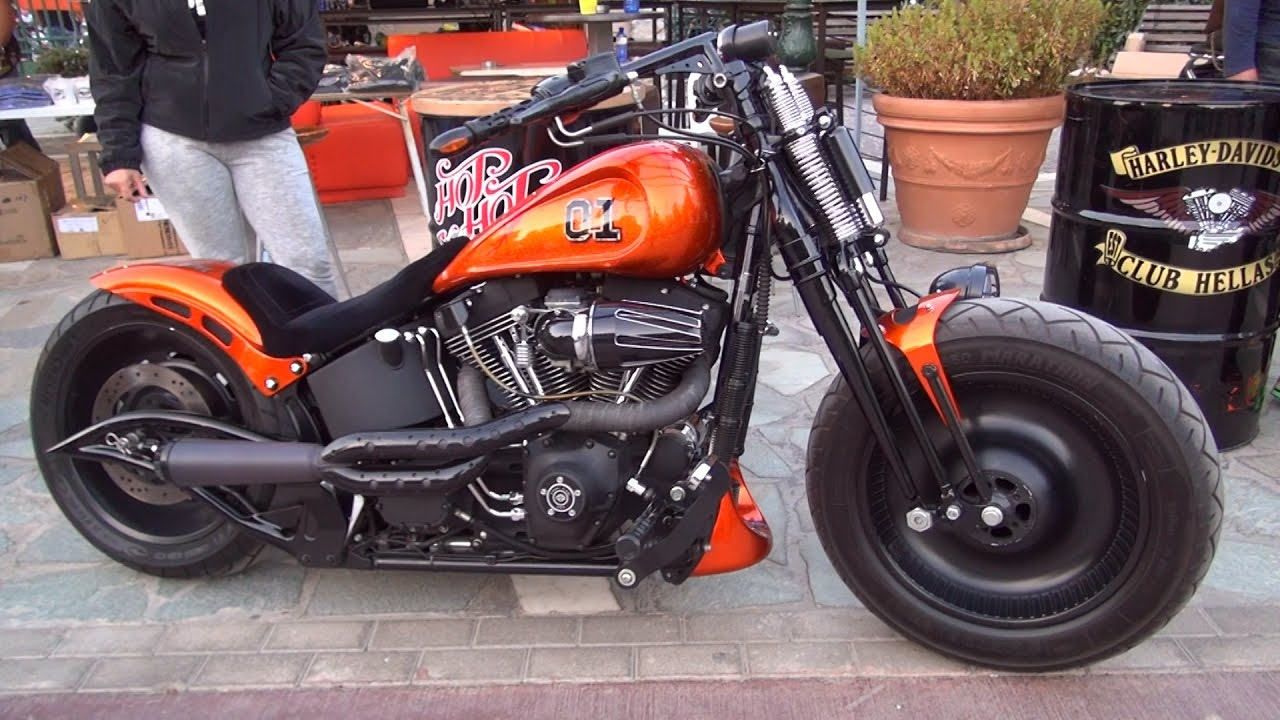 Harley Davidson, Bike Show 2016 Greece - YouTube