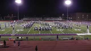 downers grove north trojan marching band 10 11 2013