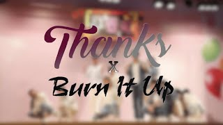 【THROWBACK】SEVENTEEN 'THANKS' + WANNAONE ONE 'BURN IT UP' by…