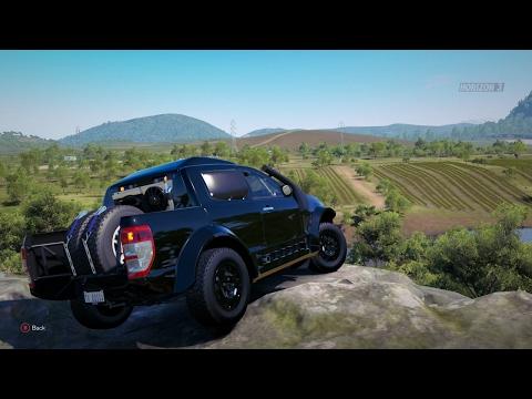 Forza Horizon 3| 2014 FORD RANGER T6 RALLY RAID