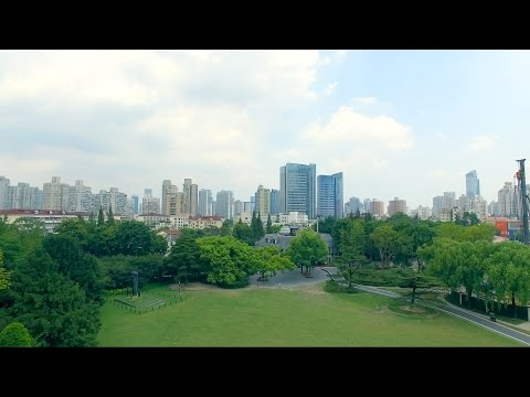 DJI Phantom 4 at Zhongshan Park, Shanghai, China
