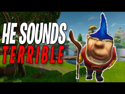 The *NEW* GNOME Added In Fortnite Sounds TERRIBLE