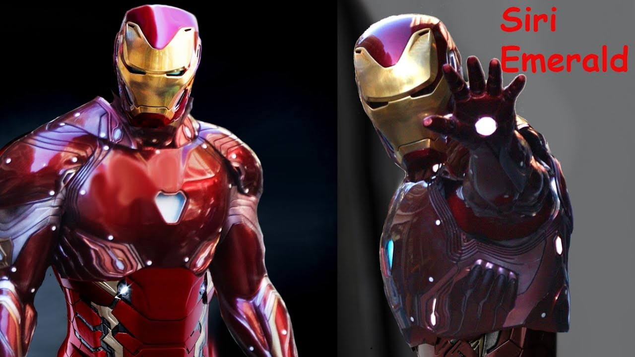sneak peek iron man mk 48 (mark xlviii) marvel avengers infinity war