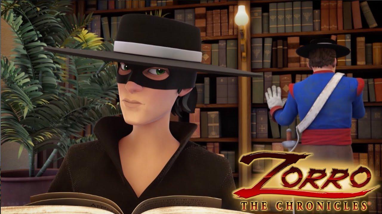 Zorro la leggenda episodio il vero volto di zorro cartoni