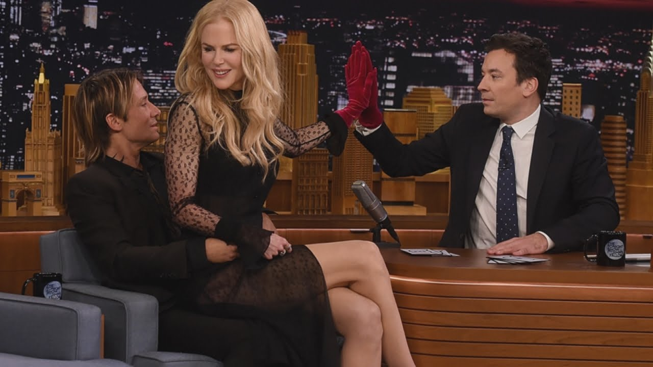 Relationship Advice From Keith Urban And Nicole Kidman: Keith Urban 'Rescues' Nicole Kidman From Awkward 'Tonight