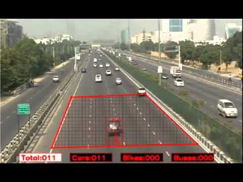 Vehicle Classification in multilane  Video Analytic by SPARSH