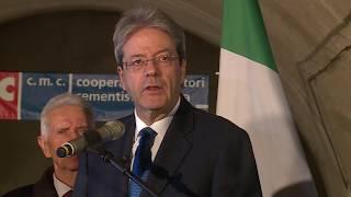 Il Presidente Gentiloni a Catania