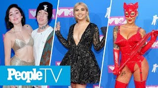 2018 VMAs Red Carpet Show: Celebrity Interviews, Award Buzz & More | 2018 VMAs | PeopleTV
