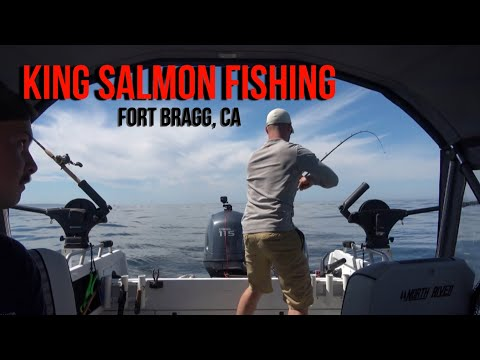 King Salmon Fishing - Fort Bragg, Ca