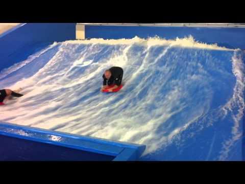 Flowrider at Cardiff International White Water Center