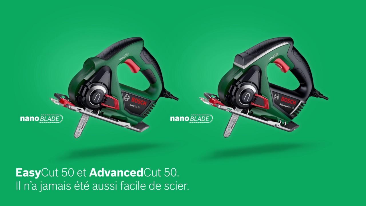 scies multi-usages bosch easycut 50 et advancedcut 50 avec lame