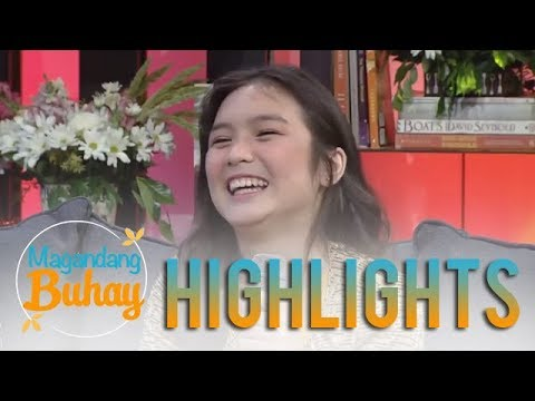 "Magandang Buhay: Francine shares her reaction to being a part of ""Kadenang Ginto"""
