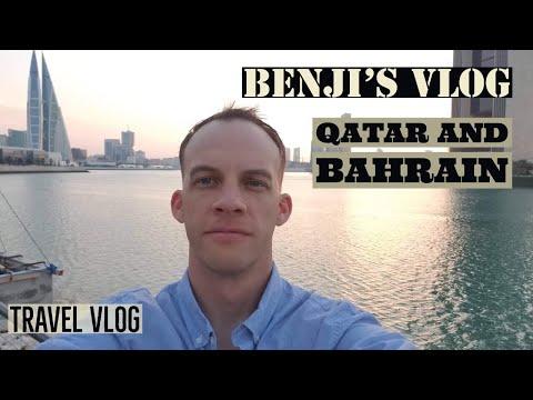 Travel Vlog | Bahrain and Qatar | Deployment Vlog | Benj's Vlog