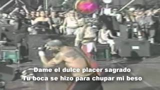 Suck my Kiss (en español) - Red Hot Chili Peppers