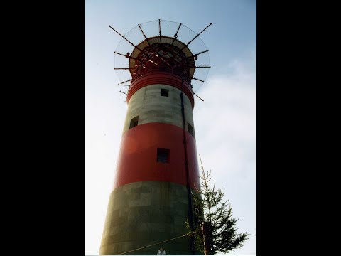 Needles Lighthouse At Christmas,  Part 2