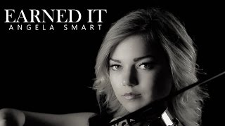 the weeknd earned it official video violin cover angela smart