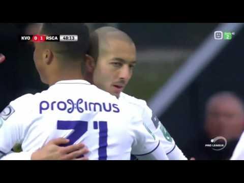 KV Oostende 0 - Anderlecht 1 (Sofiane Hanni signe un but d'anthologie)