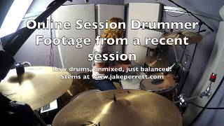Online rock session - Raw drums