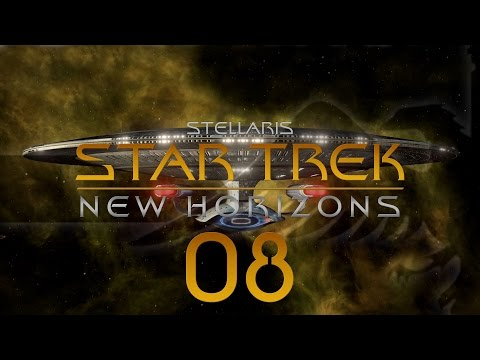 Stellaris Star Trek #08 STAR TREK NEW HORIZONS MOD - Gameplay / Let's Play
