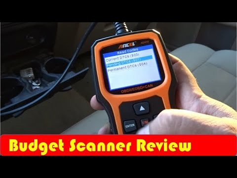 Ancel AD410 OBD II Scanner Review