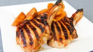 Maple Syrup Glazed Pork Chops - Video Recipe