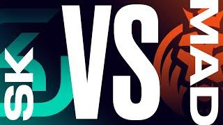 SK vs. MAD - Week 6 Day 1 | LEC Summer Split | SK Gaming vs. MAD Lions (2021)