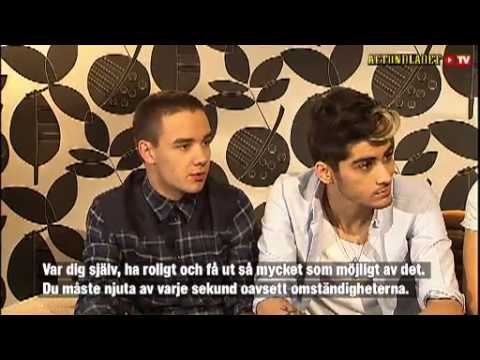 One Direction got the globe to shake (Sweden)