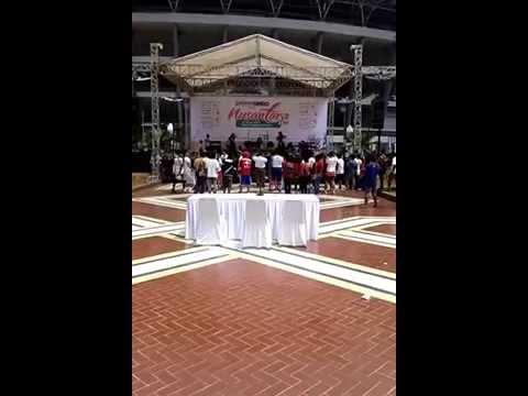 Duo rajawali - Alim Tapi Dzolim live at Nusantara Run 2015 Koran Sindo