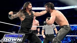 Roman Reigns vs. Kane & Seth Rollins: SmackDown, March 19, 2015