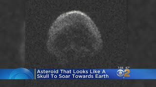 Skull-Shaped Asteroid To Pass By On Halloween